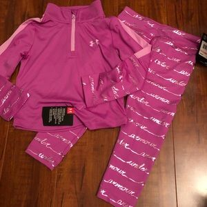 Under Armour NWT outfit 2t